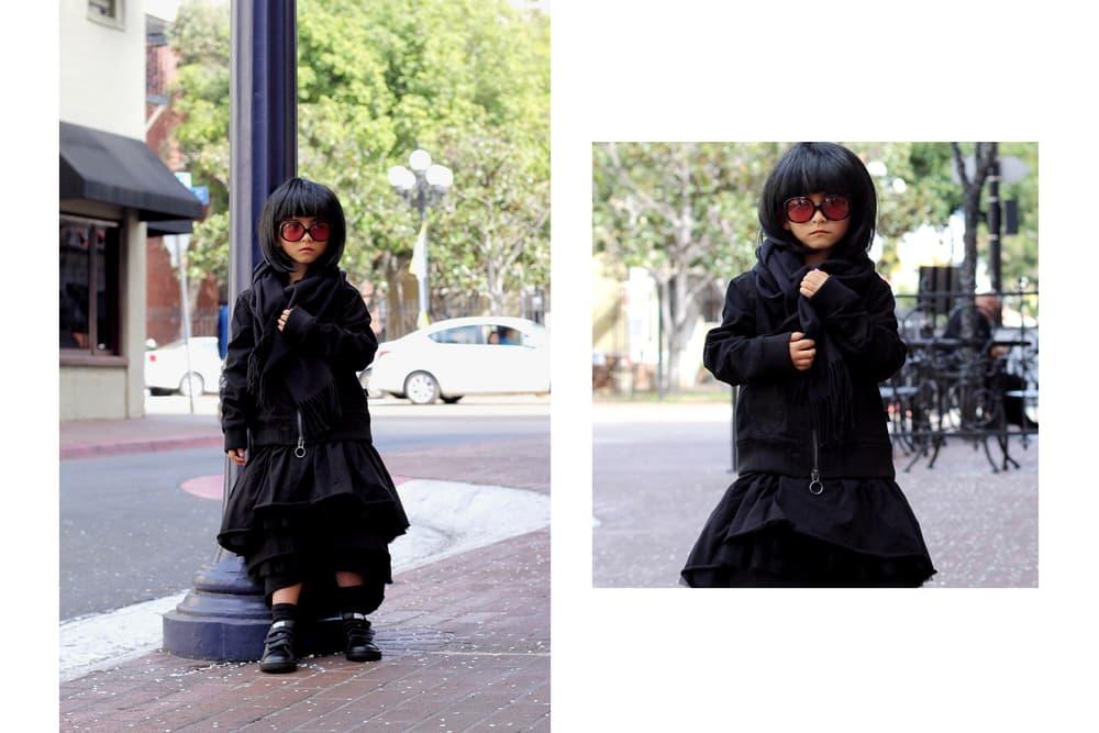 Rei Kawakubo Comme Des Garcons Mini Me Designer Ksisterslove Black