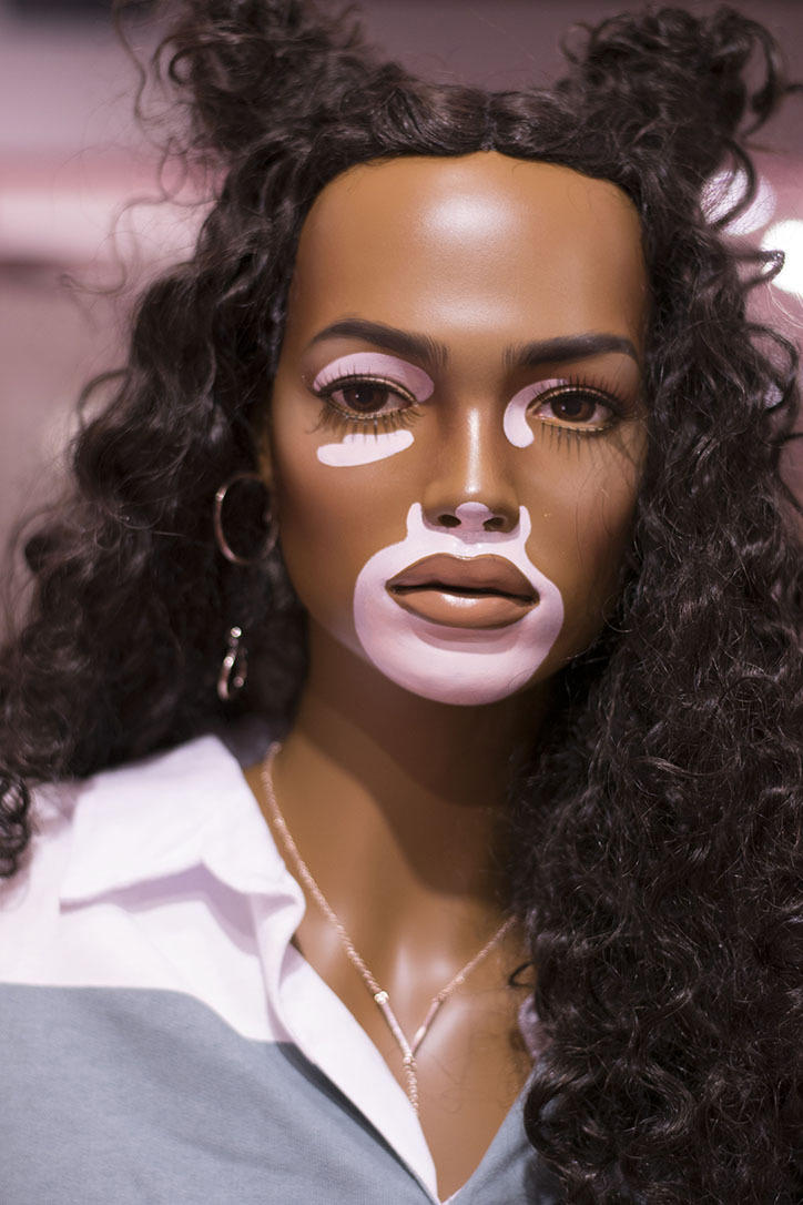 missguided make your mark campaign 2018 diverse mannequins in store stretchmarks ethnicity body positivity positive vitiligo diversity representation