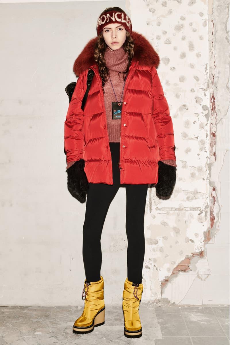 Moncler Milan Fashion Week 2018 Shows Palm Angels Simone Rocha Craig Green Fragment 1952 Shows Noir