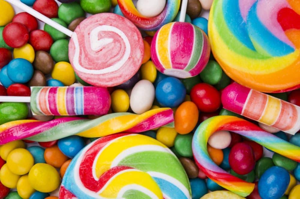 Candy Lollipops Skittles