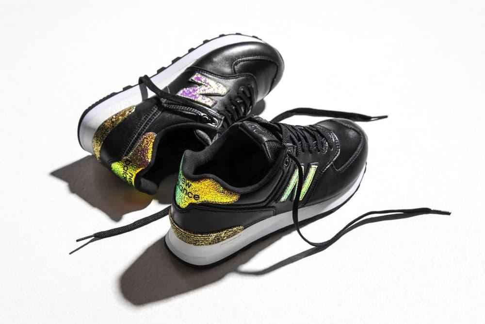 New Balance 574 Glitter Pack Black
