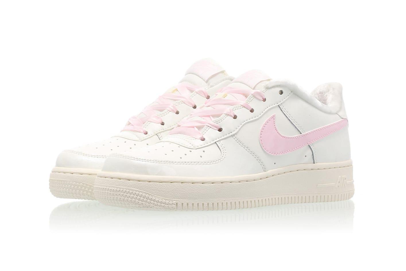 Millennial Pink Fur-Lined Air Force 1
