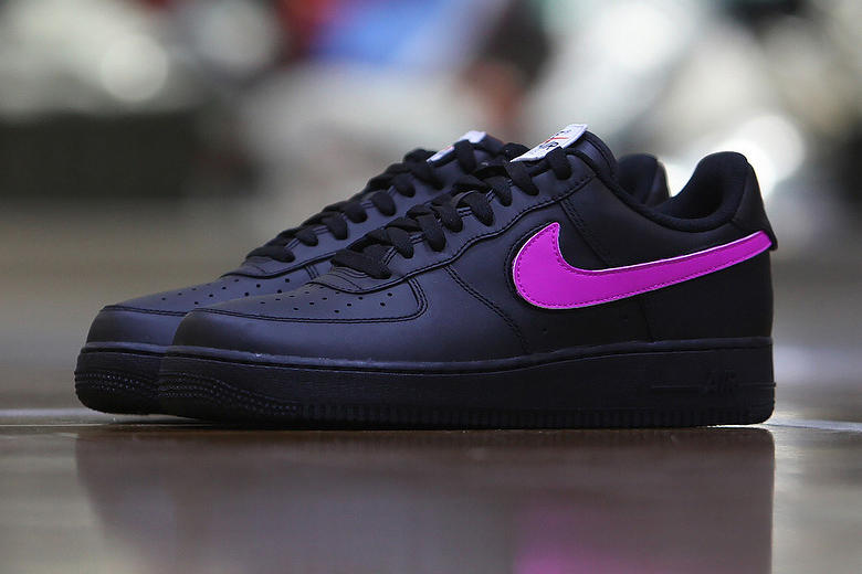 Nike Air Force 1 Customizable Velcro Swoosh Colors DIY
