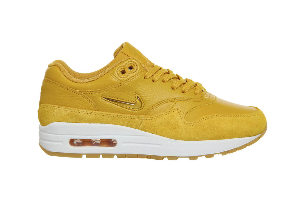 huge discount a5684 05e75 Nike Drops the Air Max 1 Jewel in Mineral Yellow | HYPEBAE