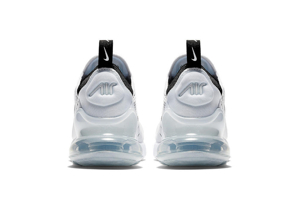 Nike Air Max 270 Women's White/Black Colorway Sneaker Silhouette New Modern Nike Wmns