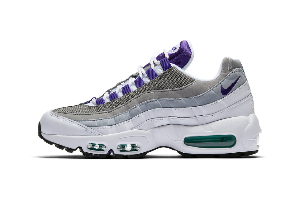 7f5eaadff1 Nike's Air Max 95 Drops in a '90s Grape Colorway | HYPEBAE