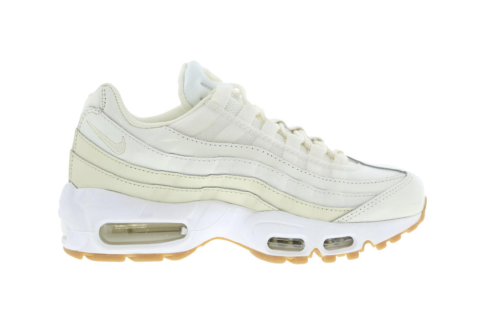 online store 12692 c3e21 nike air max 95 womens sneakers sail fossil cream beige off white minimal  where to buy. 1 of 2. Foot Locker