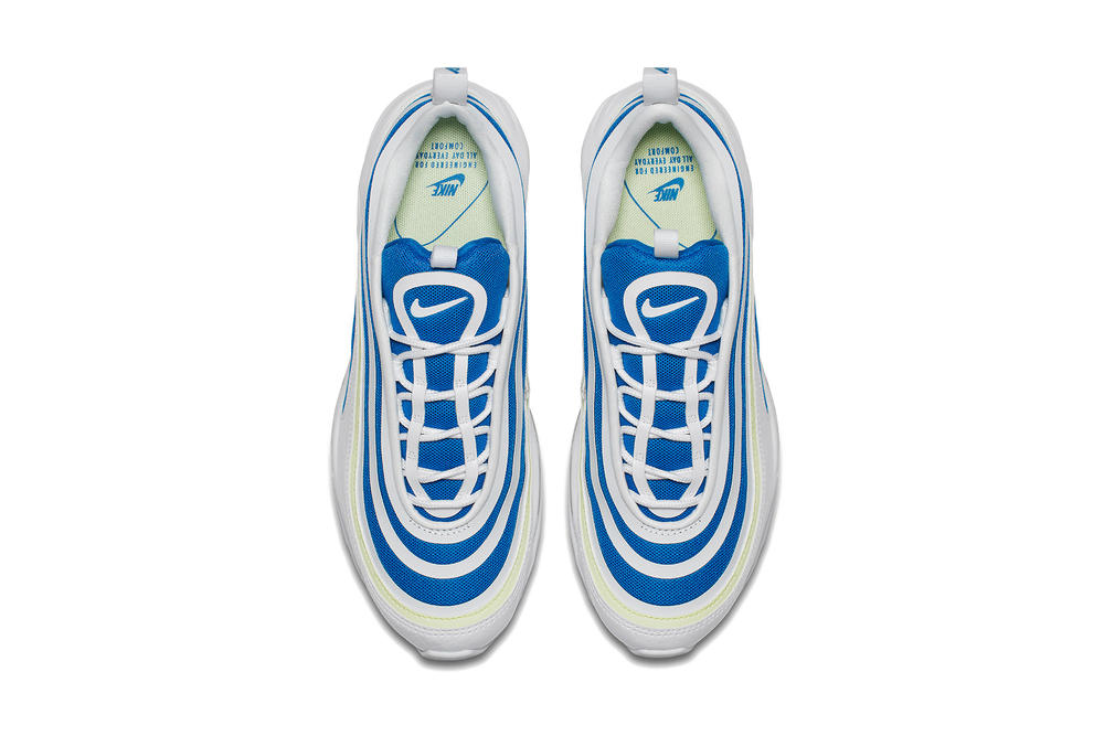 "Nike Air Max 97 Ultra in Blue/White ""Sprite"" Royal Blue Sneaker Silhouette Shoe Future Release"