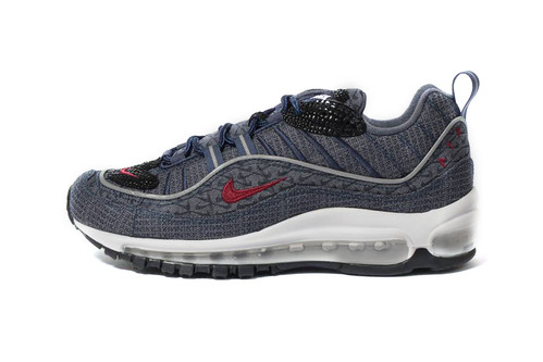 ef06f4f00b9 Nike's Latest Air Max 98 QS Features an All-Over Swoosh Design