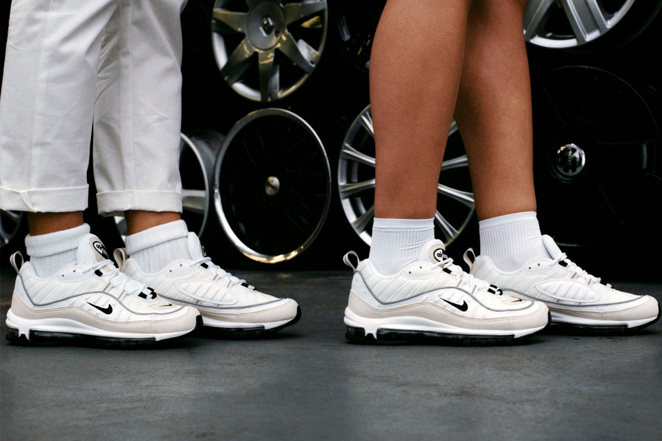 new style 14f77 2a6be Nike Unveils Women's Air Max 98 Sneaker in White | HYPEBAE
