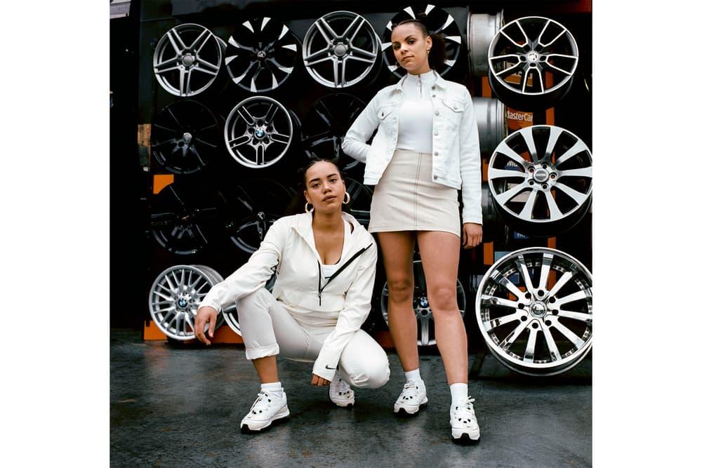 Nike Air Max 98 womens ladies white cream beige off-white sneakers typical girls magazine zine chani ceylia adama jalloh where to buy