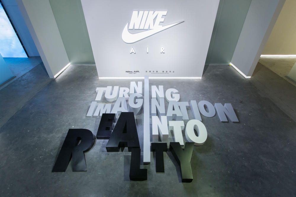 Nike Air Max Day Preview Event in Shanghai Miniswoosh Alexandra Hackett VaporMax 95 97 Sneaker Display Release Virgil Abloh Off-White Collaboration