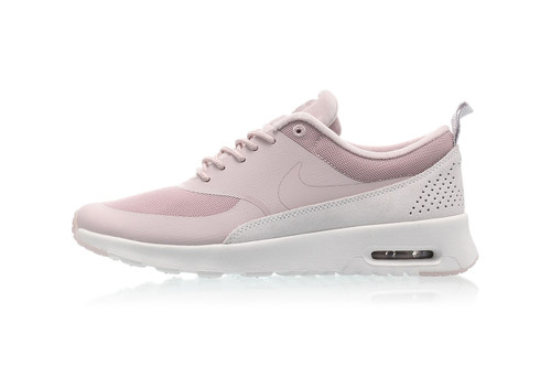 a852ff11448234 Nike s Pastel Pink Air Max Thea Is Topped With a Tiny Velvet Detail
