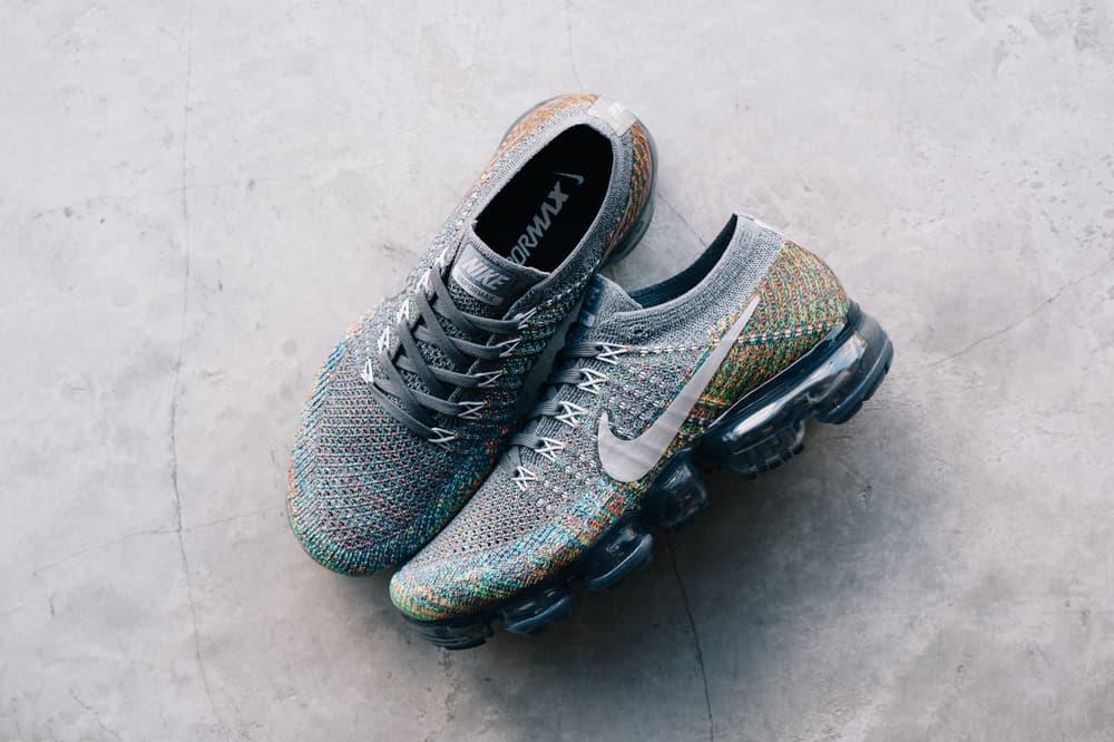 Nike Air VaporMax Flyknit Grey Multicolor