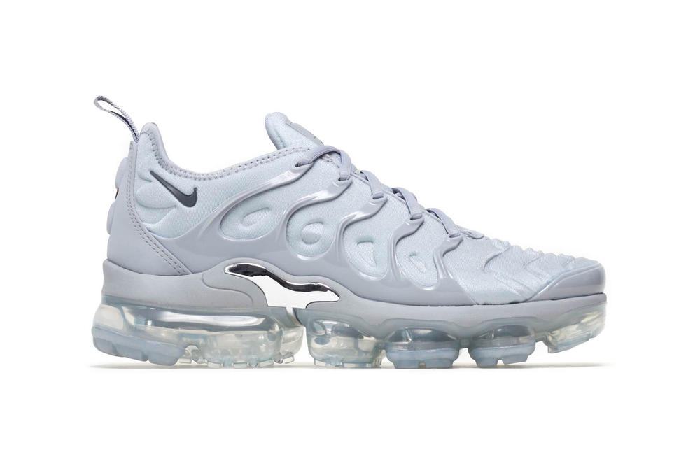 separation shoes 71bc0 97698 Buy Nike's Air VaporMax Plus TN in Wolf Grey | HYPEBAE