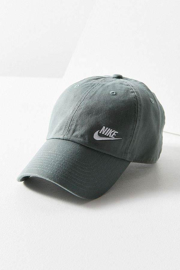 Buy Nike s Twill H86 Dad Hat in Olive and Teal  07422362f9b
