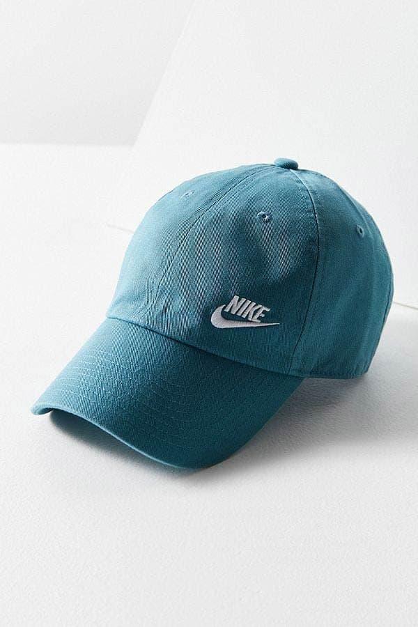 Nike Twill H86 Baseball Hat Olive Teal