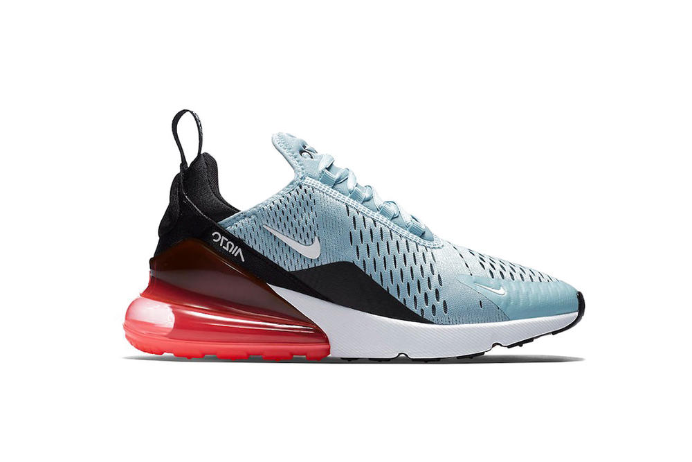 Nike Air Max 270 Ocean Bliss Light Bone Neutral Olive Colorway