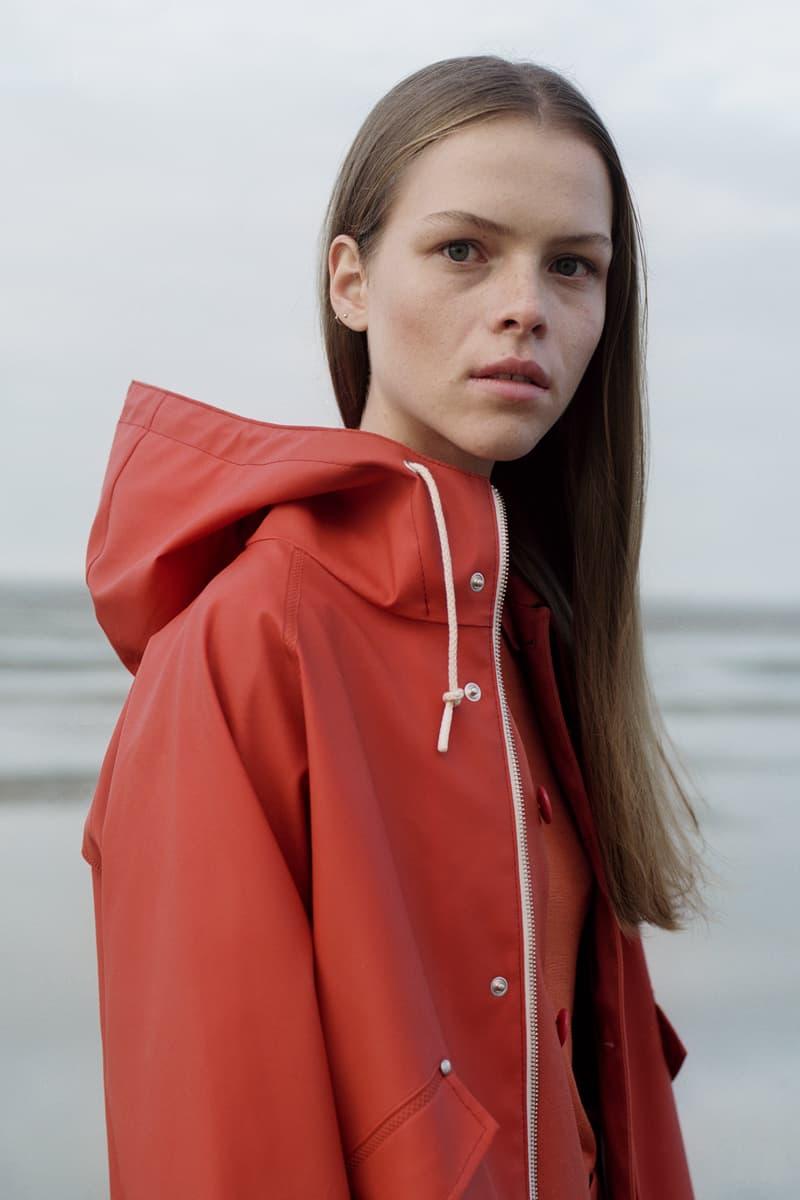 Norse Project Spring/Summer 2018 Collection Lookbook Orange PVC Rain Coat