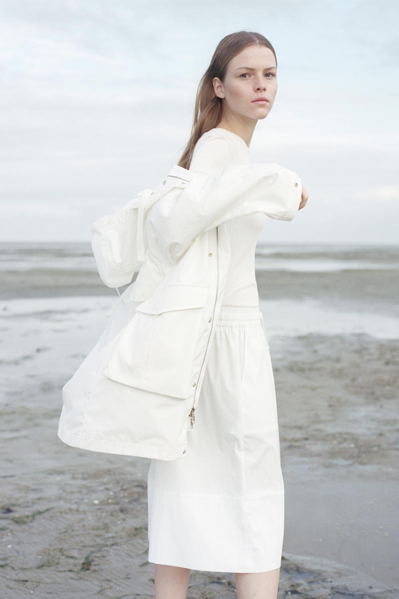 Norse Project Spring/Summer 2018 Collection Lookbook White PVC Rain Coat Dress