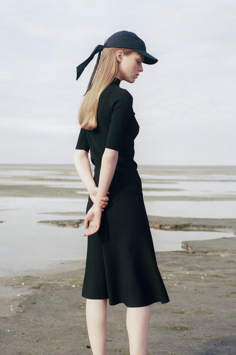 Norse Project Spring/Summer 2018 Collection Lookbook Blue Hat Black Dress