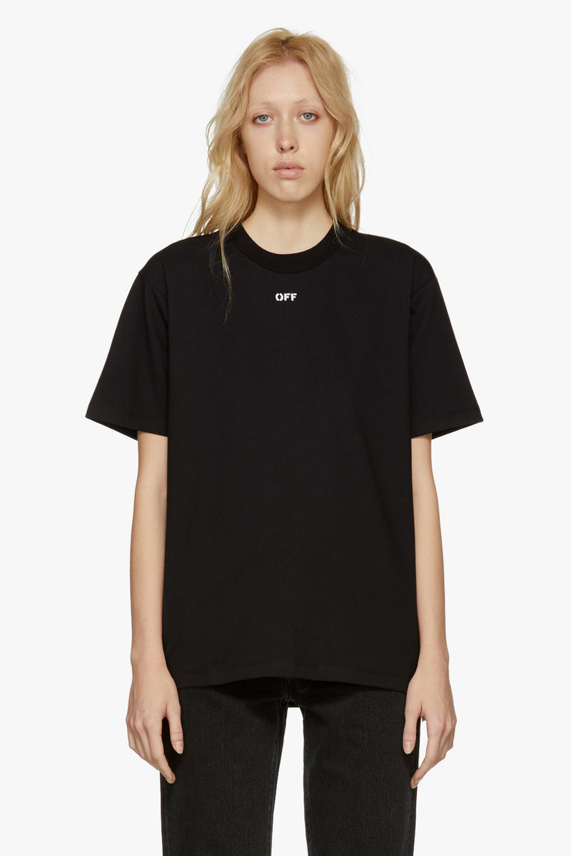 """Off-White New Arrivals Spring Collection """"OFF"""" T-Shirt"""
