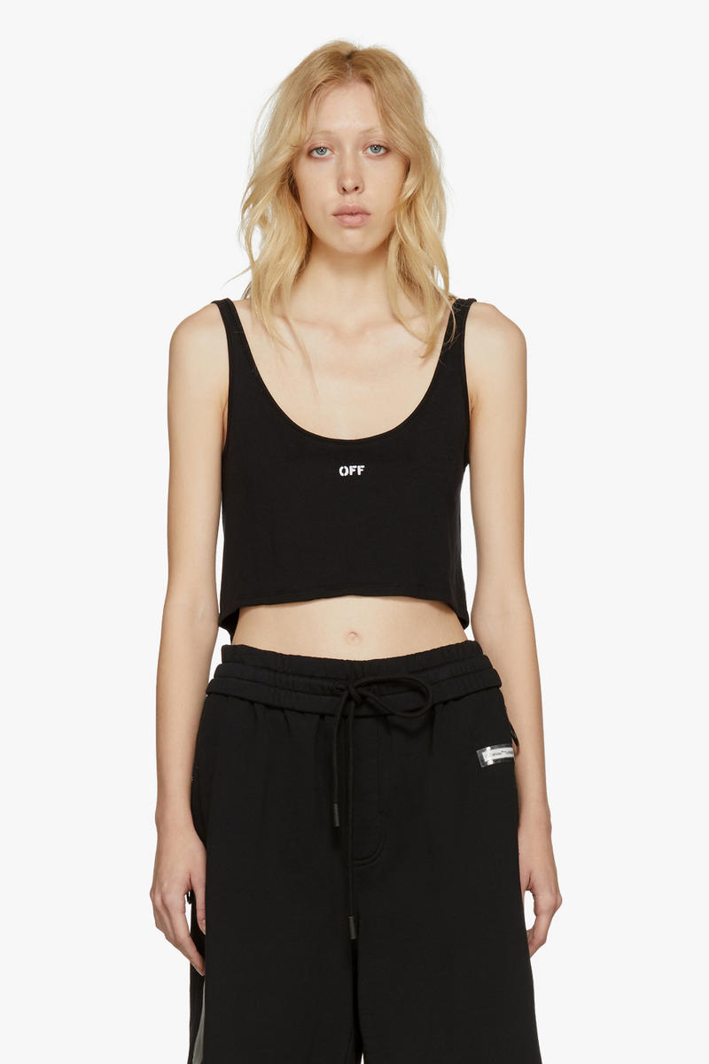 Off-White New Arrivals Spring Collection Tank Top
