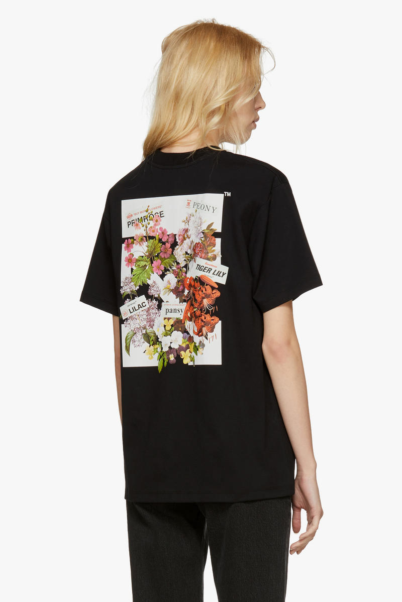 Off-White New Arrivals Spring Collection T-Shirt Back Graphic