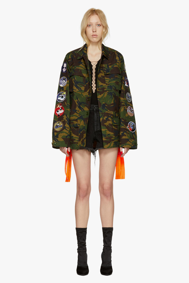 Off-White New Arrivals Spring Collection Camouflage Camo Parka