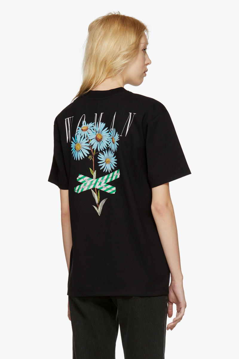 """Off-White New Arrivals Spring Collection """"OFF"""" T-Shirt Back Print"""