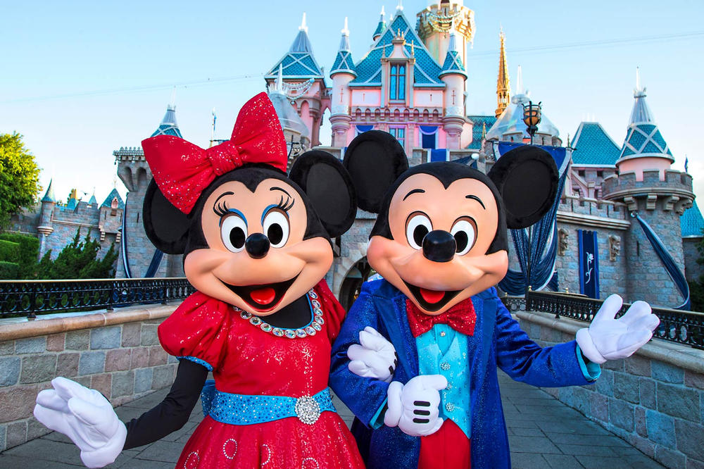 Minnie Mickey Mouse Disneyland California
