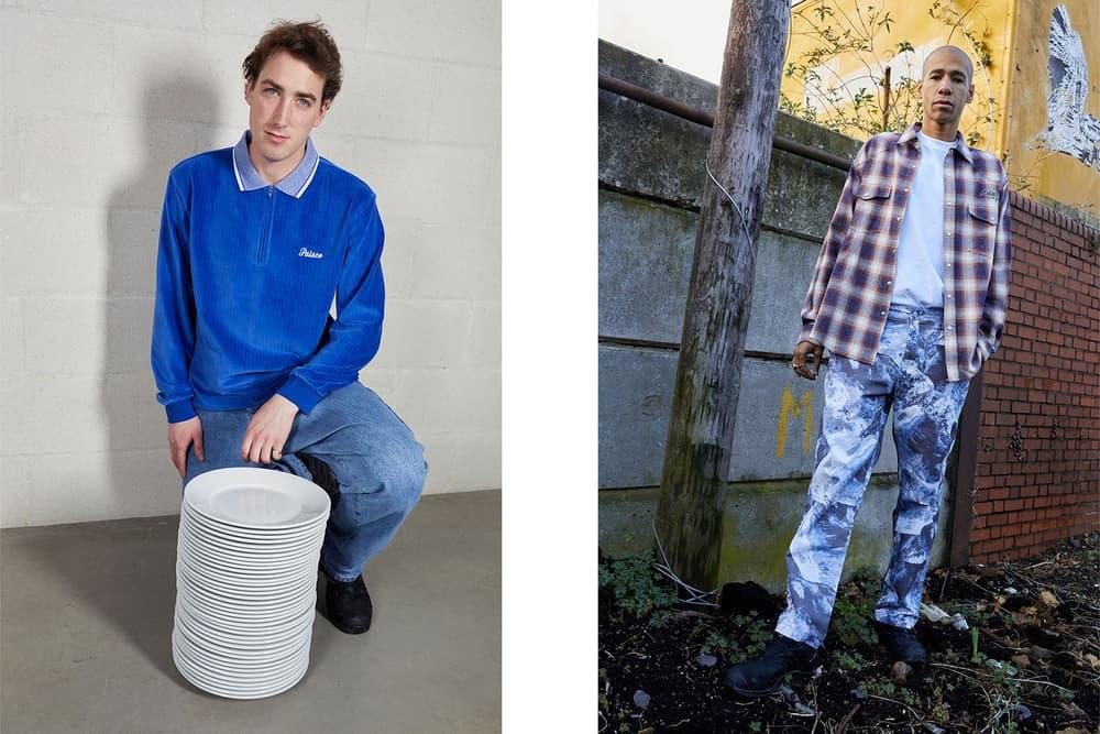 Palace Skateboards Spring 2018 Collection Lookbook Juergen Teller Royal Blue Shirt Plaid
