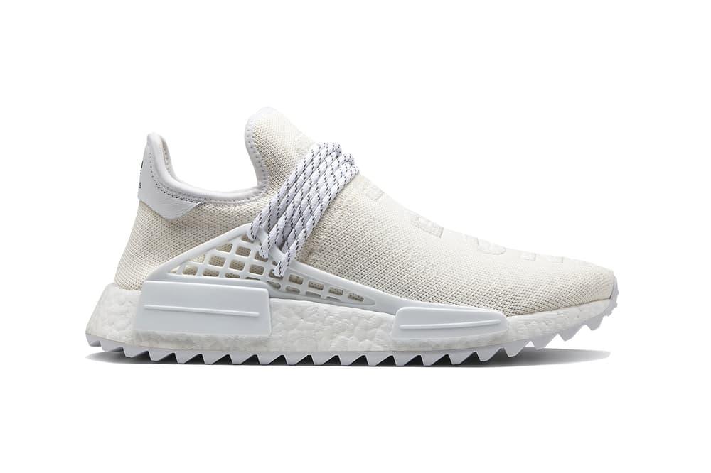 2d19b9997 pharrell williams adidas originals blank canvas pack holi hu nmd trail  tennis stan smith white cream