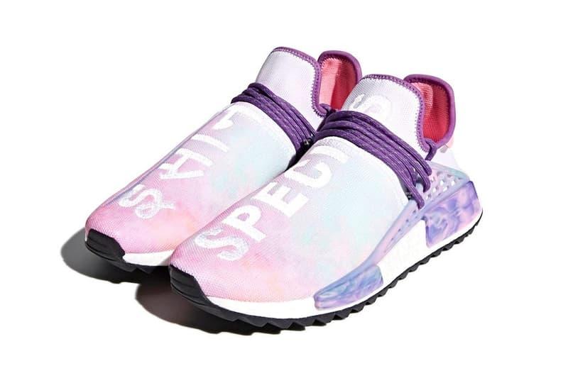 Pharrell adidas Originals Hu NMD Trail Holi Pink Glow