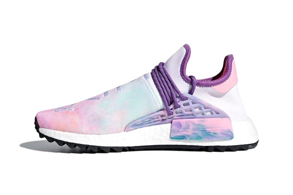 Pharrell x adidas Releases Hu NMD Trail