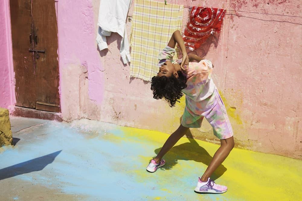 Pharrell Williams x adidas Originals Hu Holi Powder Dye NMD Trail