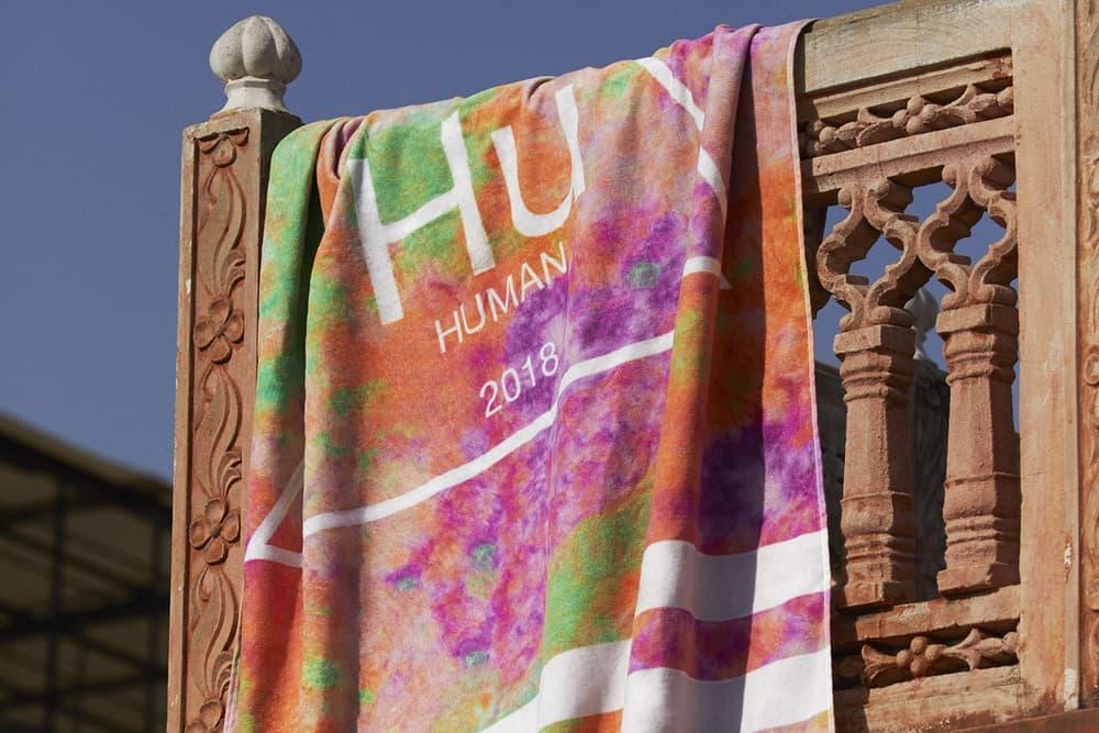 Pharrell Williams x adidas Originals Hu Holi Powder Dye Beach Towel