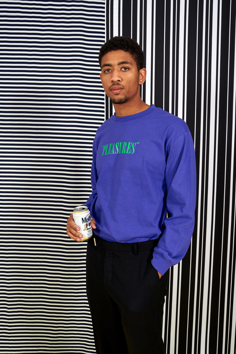 """PLEASURES Spring 2018 """"Freaks in LOVE"""" Lookbook Fashion Clothes Streetwear Denim Knit Print Bold Graphics New Collection"""