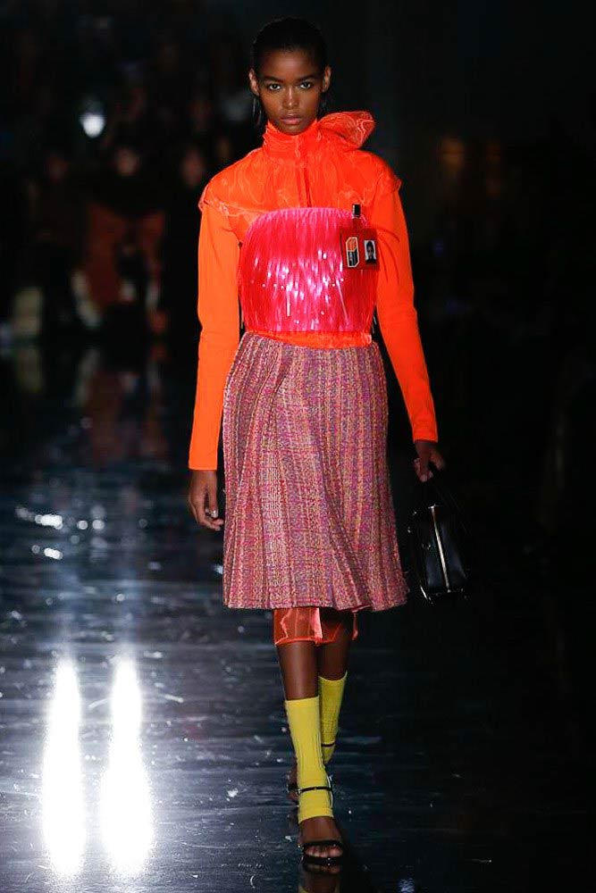 Prada Fall Winter 2018 Milan Fashion Week Show Collection