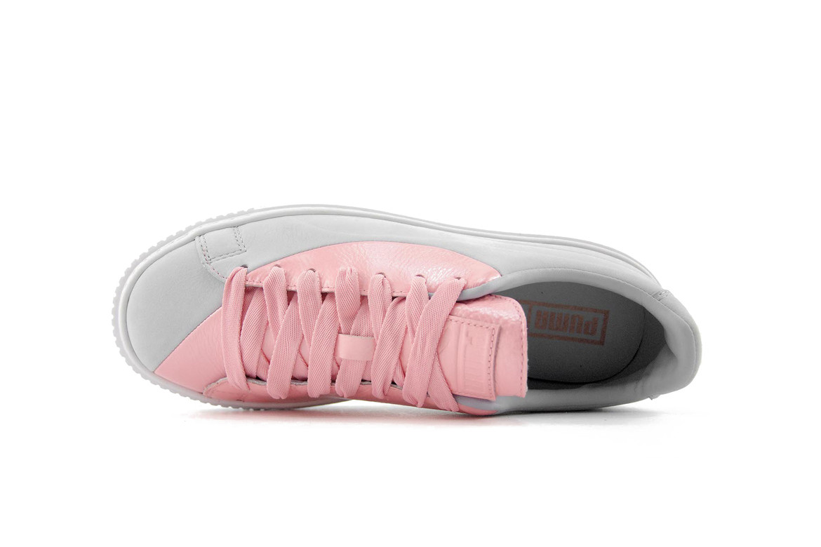 new style & luxury how to find search for best PUMA Basket Platform Valentine's Day Colorway   HYPEBAE