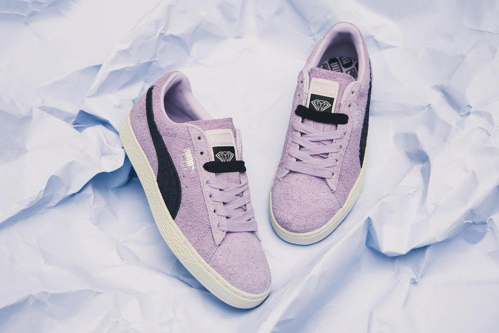 75aad75f238e7c PUMA x Diamond Supply Co. Suede Classic Orchid Bloom