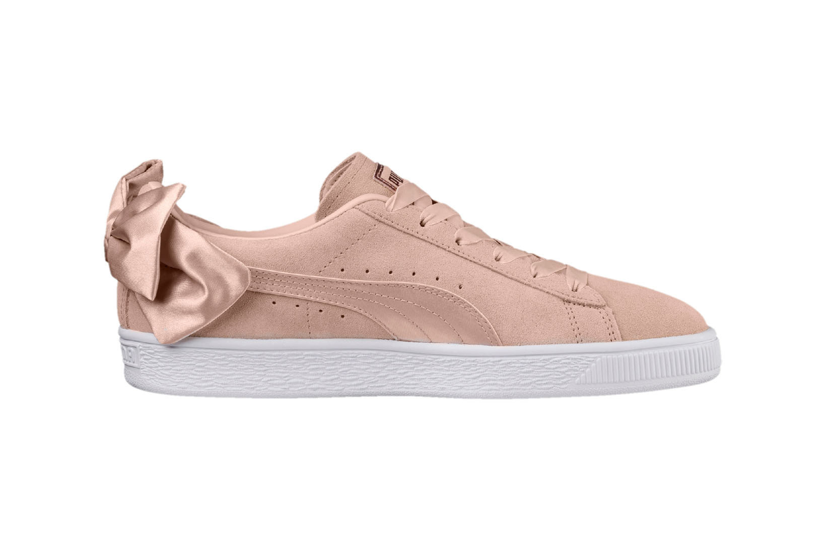 PUMA Unveils New Pastel Pink Suede Bow