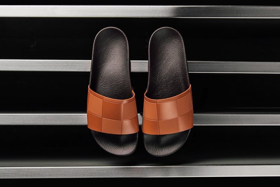 5365af32e796 Raf Simons x adidas Originals adilette Slides Orange Shoe Collaboration
