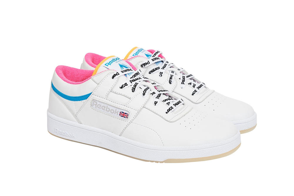 7b2fefddd27a Where to Buy Palace x Reebok s Workout Sneaker