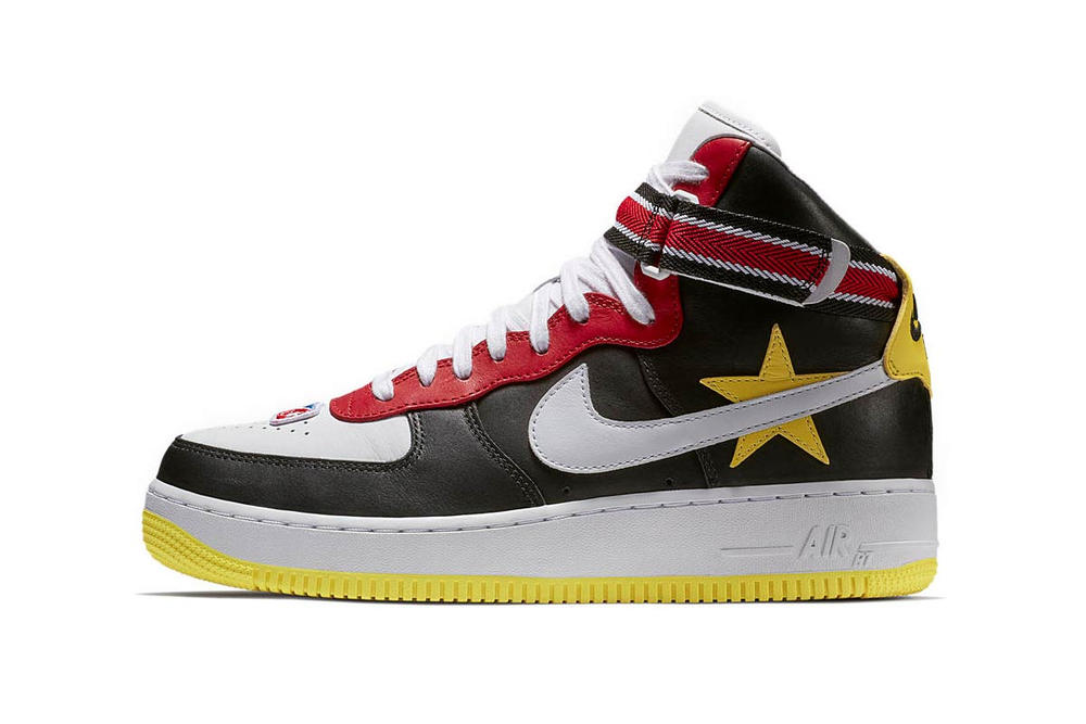 buy popular 9577f e82a7 Riccardo Tisci Nike Air Force 1 Hi Victorious Minotaur