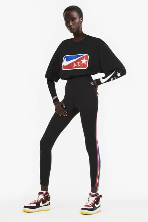 Riccardo Tisci x NikeLab's Spring 2018 Leggings T-Shirt Black