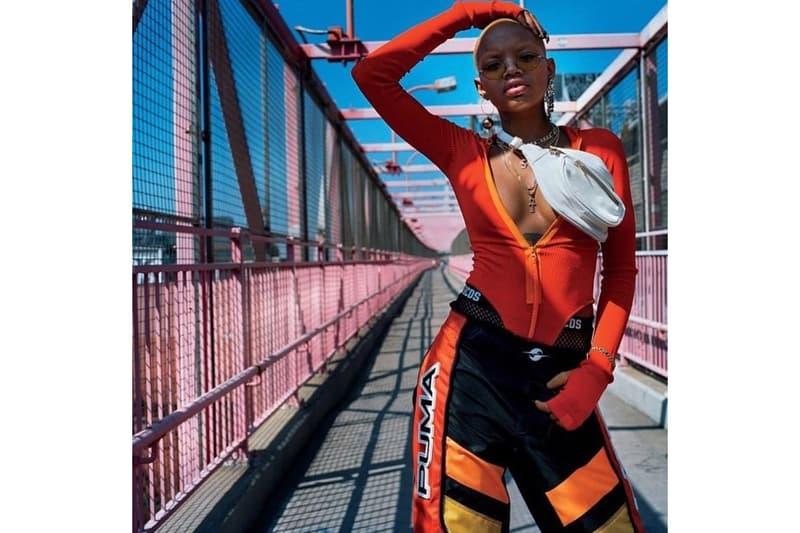 Slick Woods Rihanna Fenty PUMA Spring 2018 Campaign