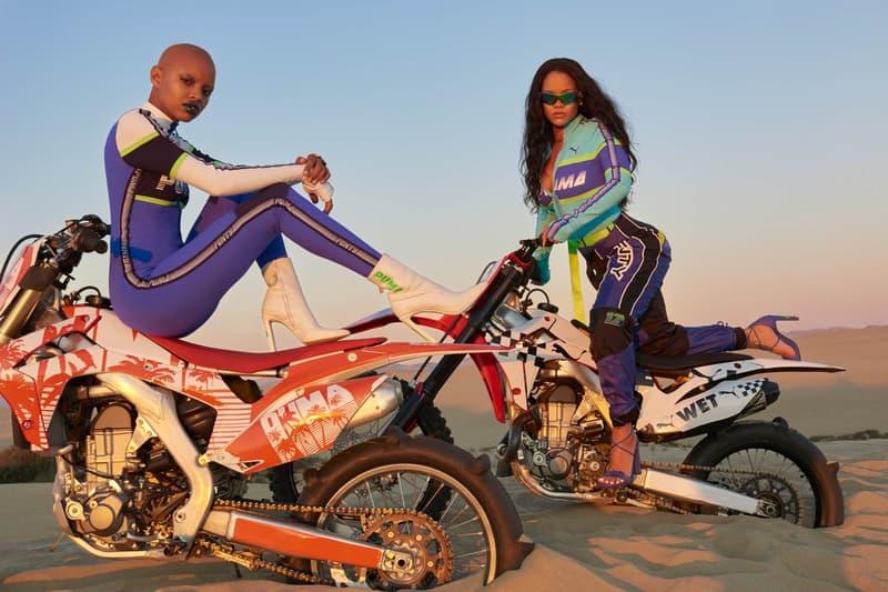 Rihanna Slick Woods Fenty PUMA Spring 2018 Campaign