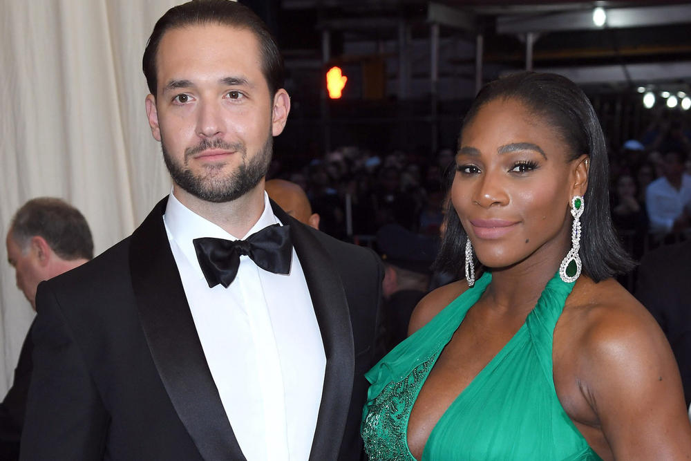 Serena Williams Alexis Ohanian Met Gala 2017