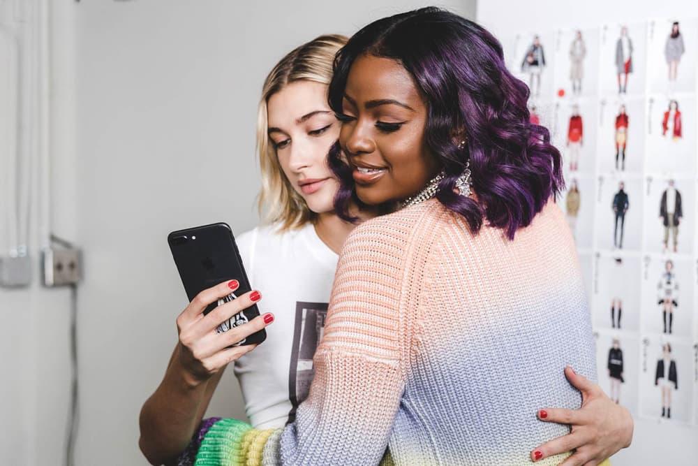 Soo Joo Natalia Dyer Hailey Baldwin Justine Skye Zadig Voltaire New York Fashion Week 2018